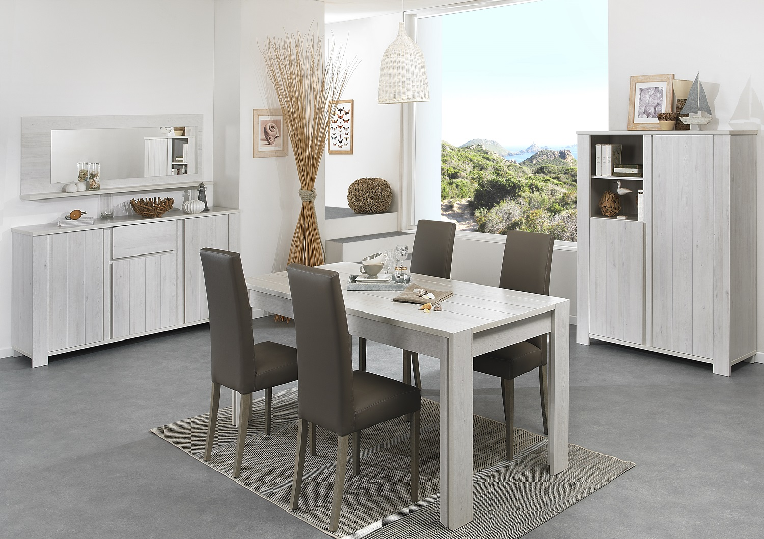 Bilrich Furniture - Clemence Dining Table