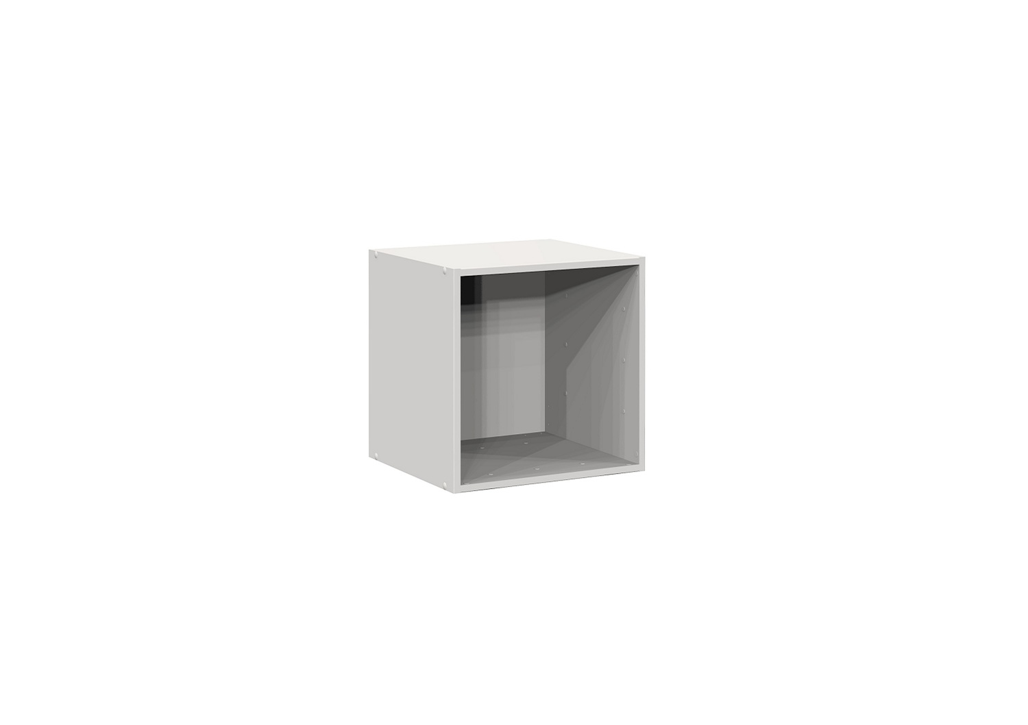 Bilrich Storage Furniture - Multi Kaz 1x1 Cube White