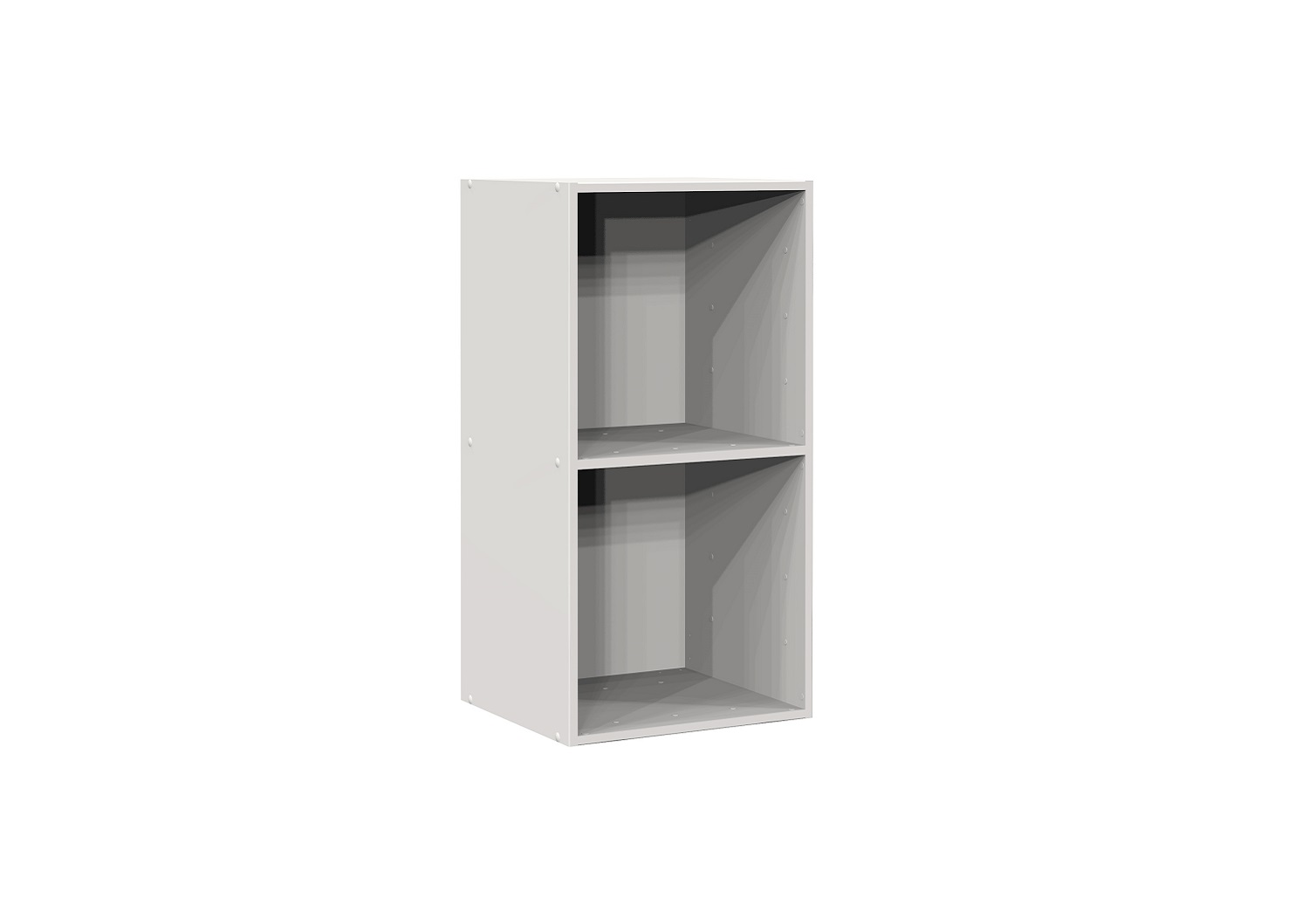 Bilrich Storage Furniture - Multi Kaz 2x1 Cube White