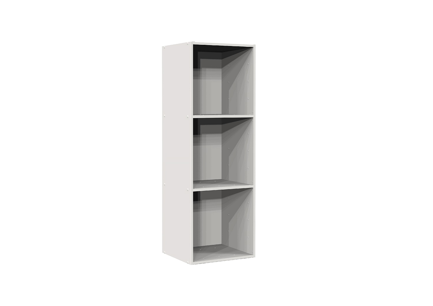 Bilrich Storage Furniture - Multi Kaz 3x1 Cube White