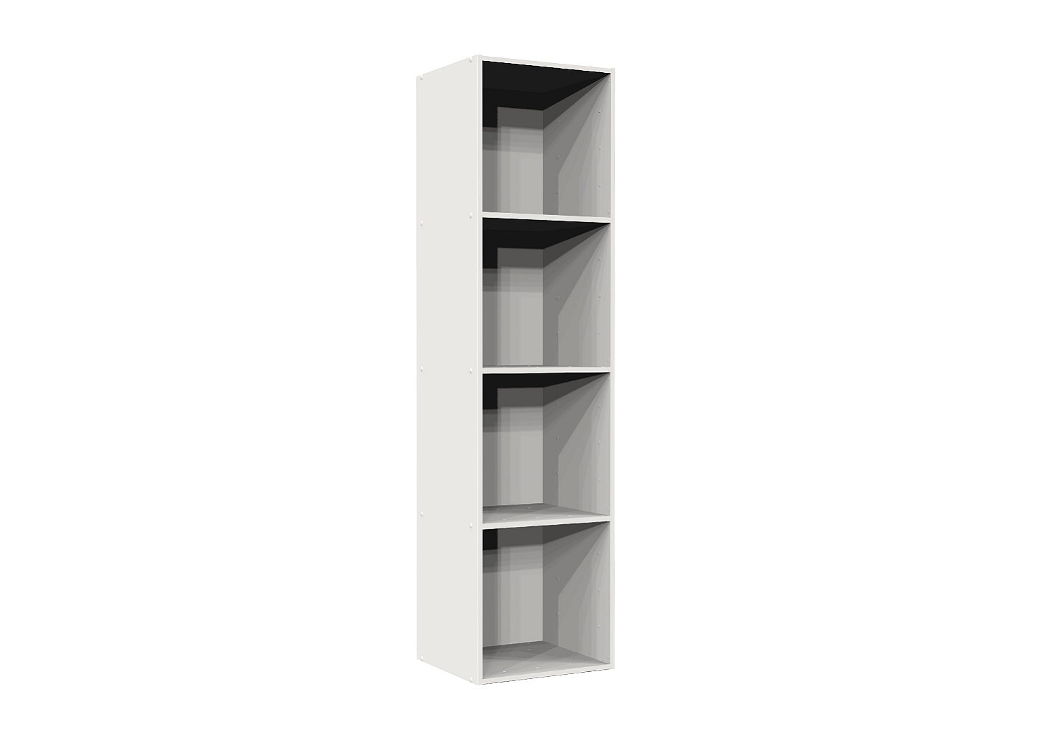 Bilrich Storage Furniture - Multi Kaz 4x1 Cube White