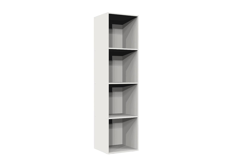 Bilrich Storage Furniture   Multi Kaz 4x1 Cube White