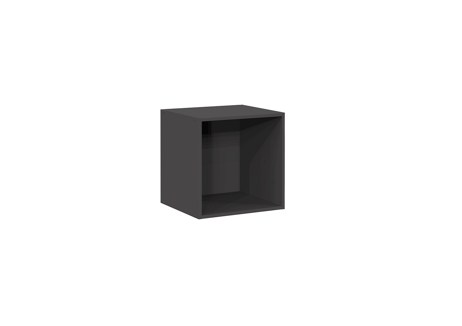 Bilrich Storage Furniture - Multi Kaz 1x1 Cube Grey