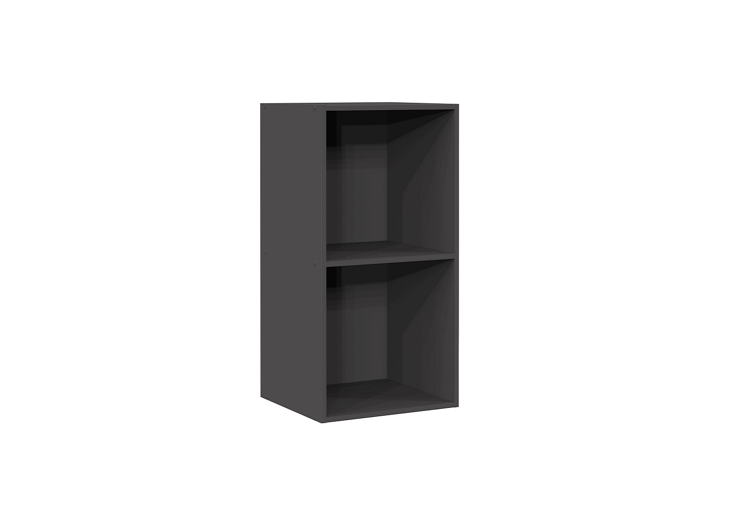 Bilrich Storage Furniture - Multi Kaz 2x1 Cube Grey