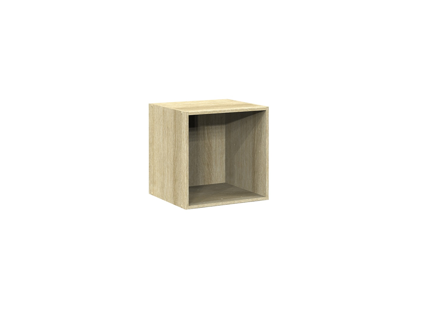Bilrich Storage Furniture - Multi Kaz 1x1 Cube Oak