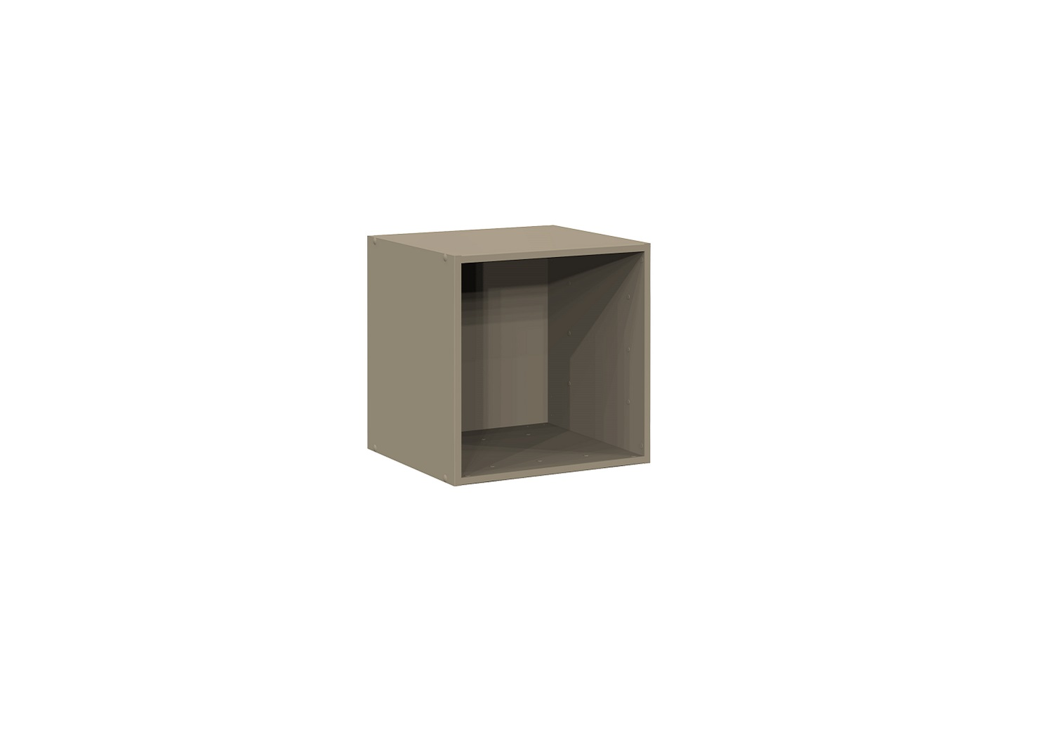 Bilrich Storage Furniture - Multi Kaz 1x1 Cube Taupe