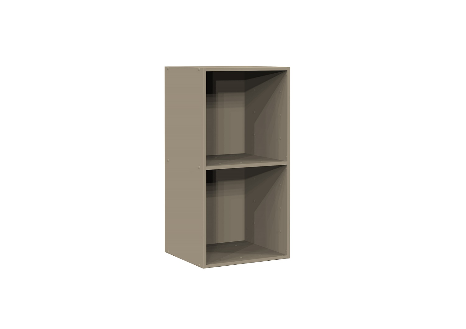 Bilrich Storage Furniture - Multi Kaz 2x1 Cube Taupe