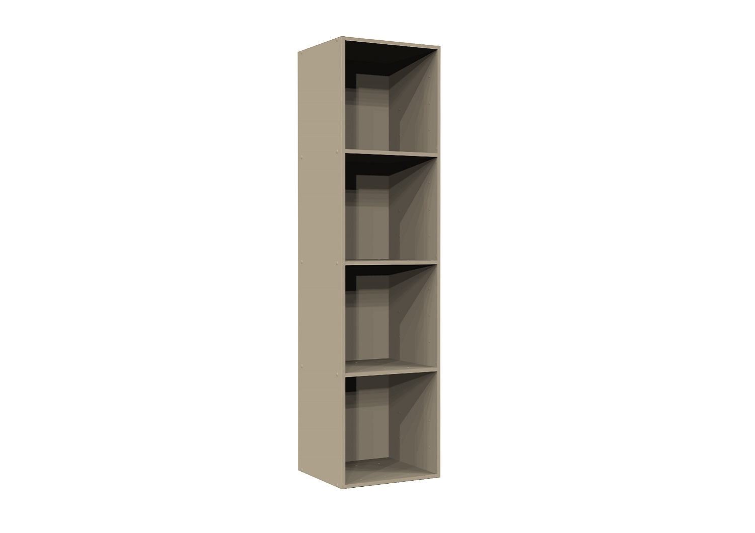 Bilrich Storage Furniture - Multi Kaz 4x1 Cube Taupe