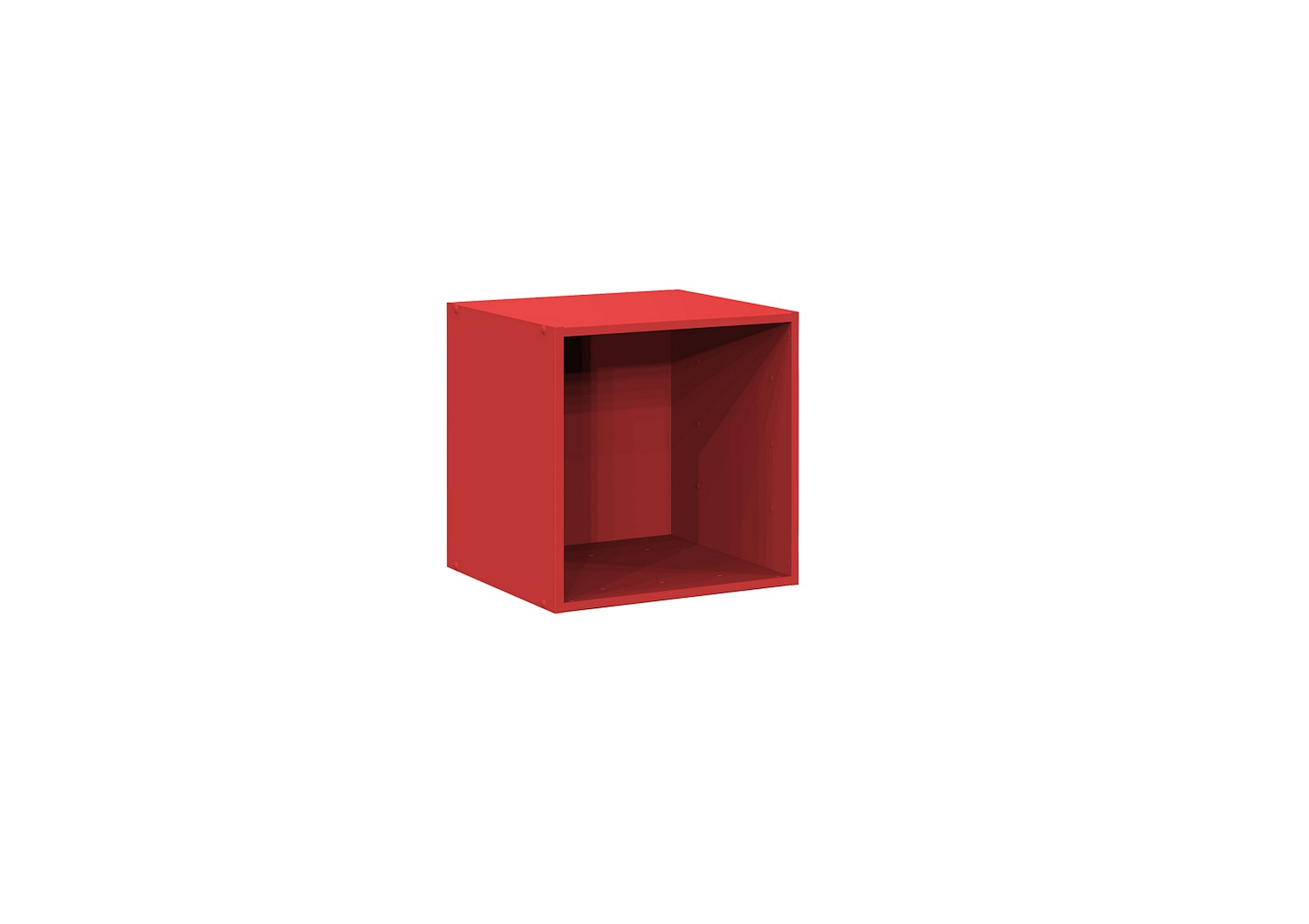 Bilrich Storage Furniture - Multi Kaz 1x1 Cube Red