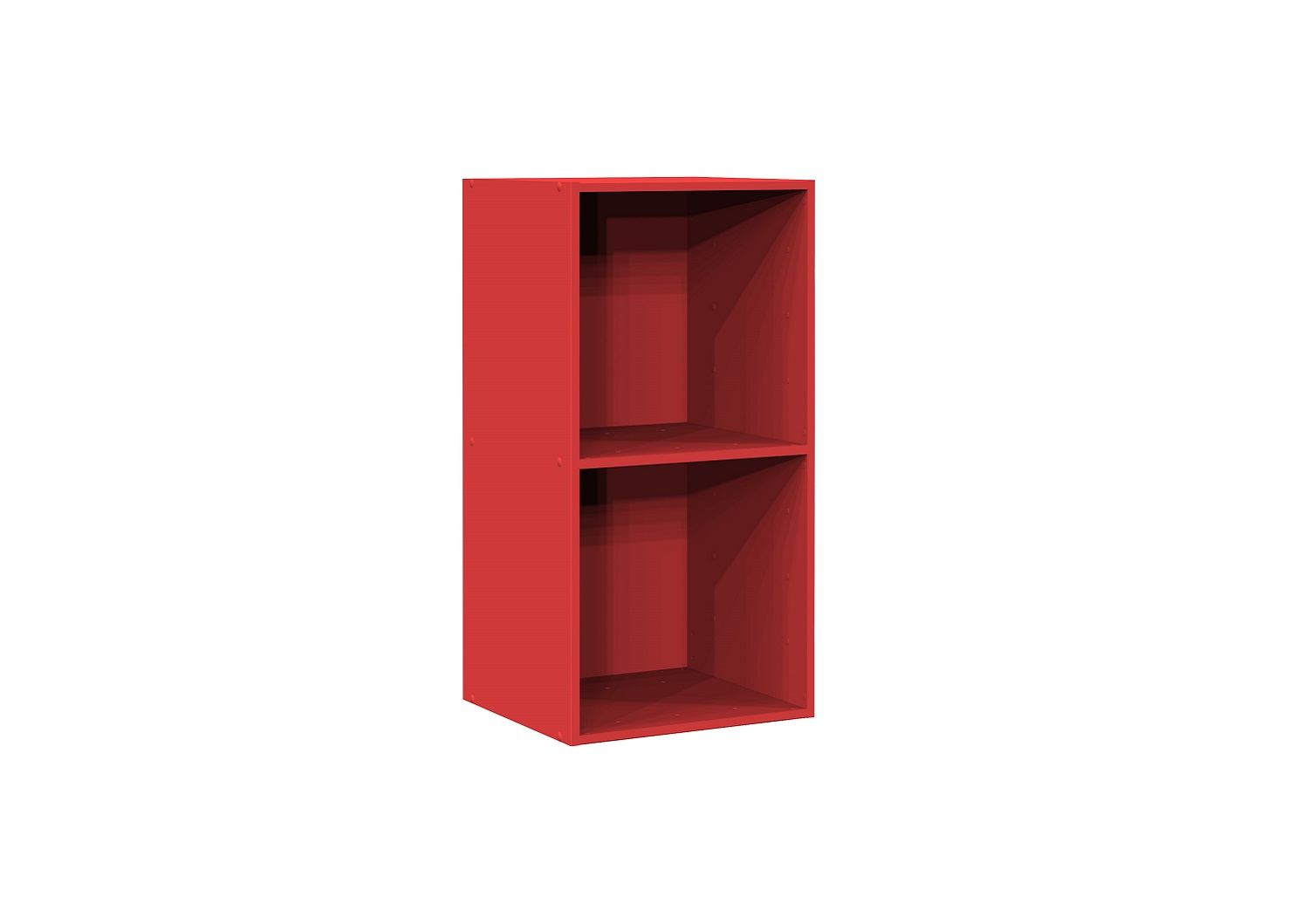 Bilrich Storage Furniture - Multi Kaz 2x1 Cube Red