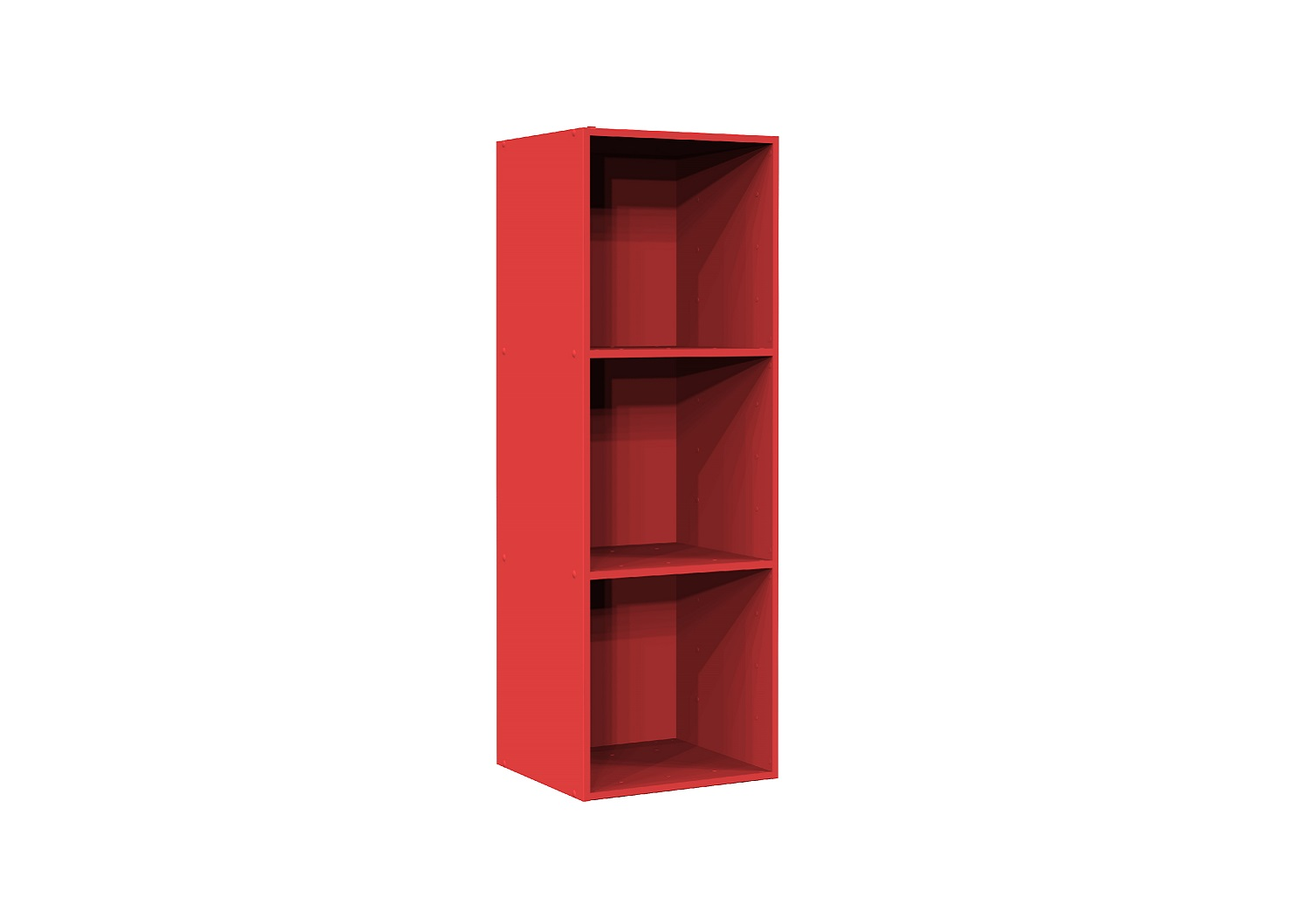 Bilrich Storage Furniture - Multi Kaz 3x1 Cube Red