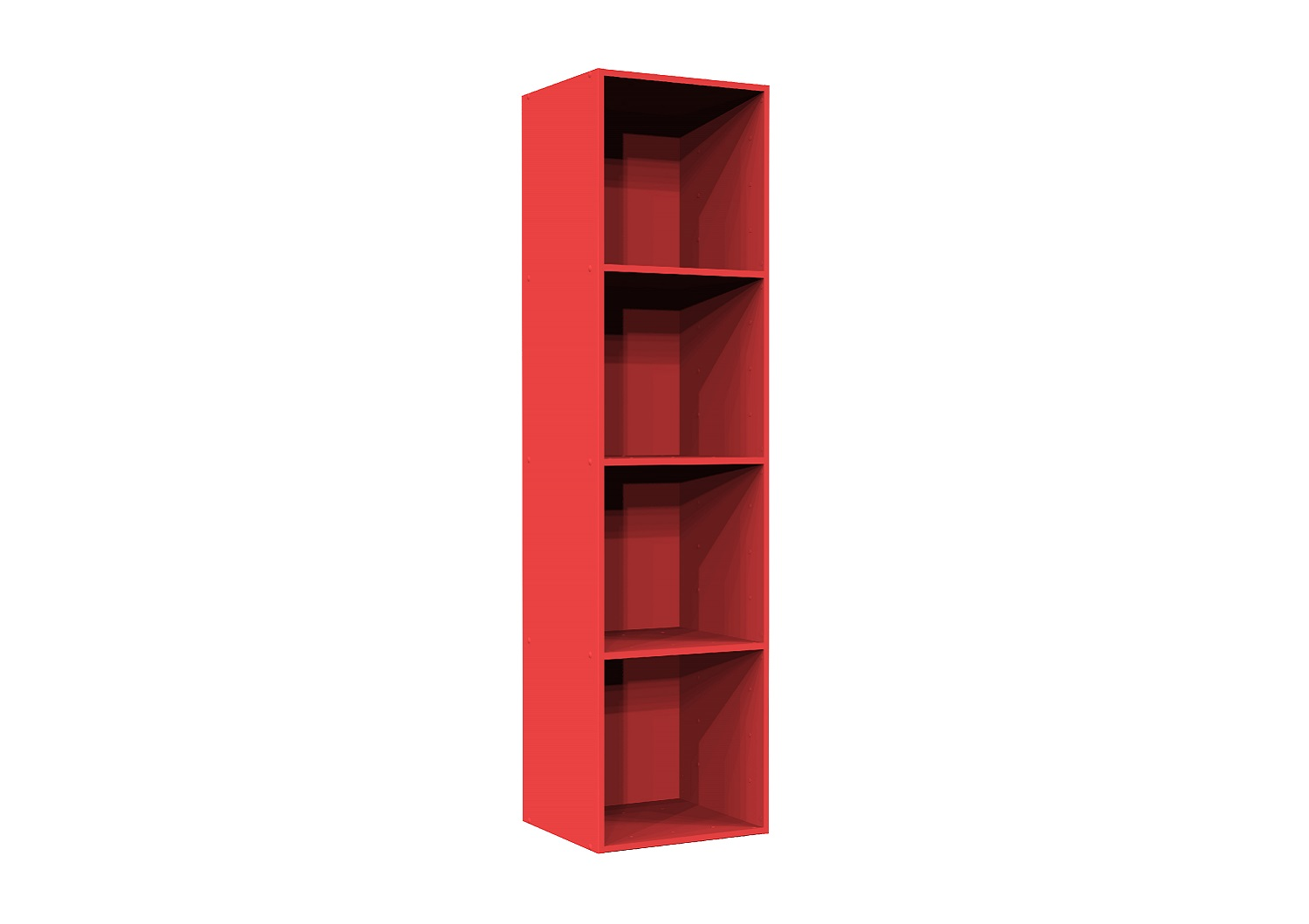 Bilrich Storage Furniture - Multi Kaz 4x1 Cube Red
