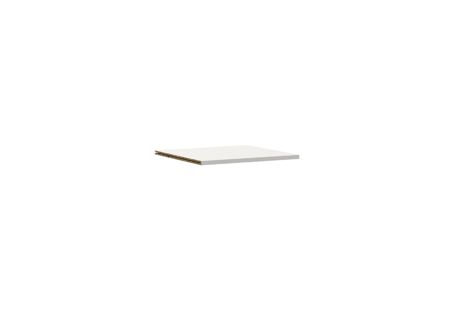 Bilrich Storage Furniture - Multi Kaz Accessory Shelf White