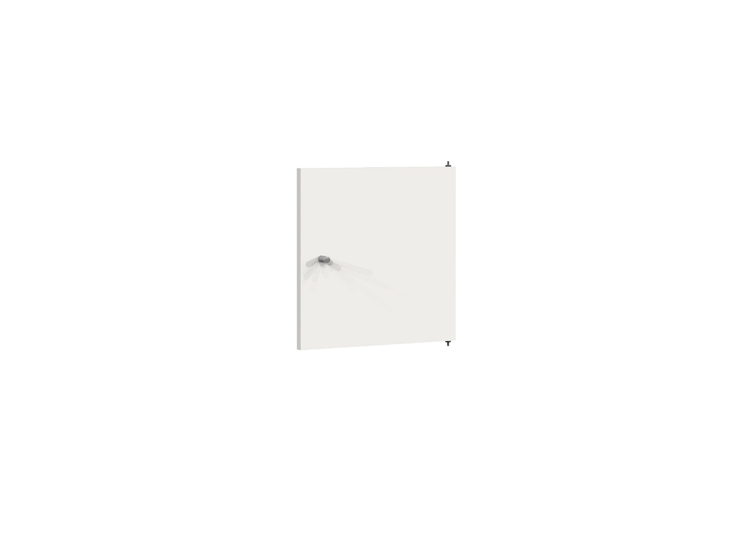 Bilrich Storage Furniture - Multi Kaz Accessory Door White