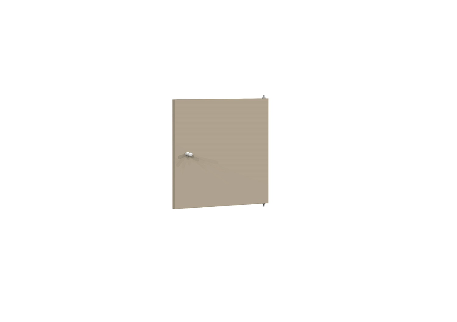Bilrich Storage Furniture - Multi Kaz Accessory Door Taupe