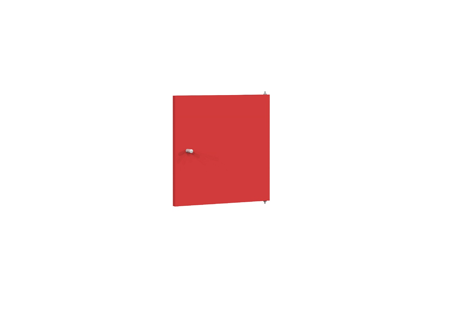 Bilrich Storage Furniture - Multi Kaz Accessory Door Red