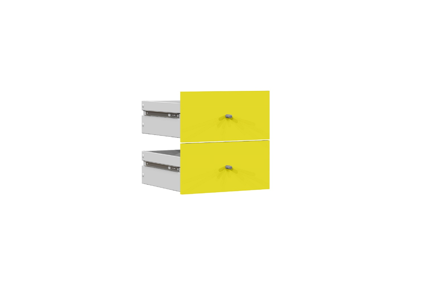 Bilrich Storage Furniture - Multi Kaz Accessory Set of 2 Drawers Green