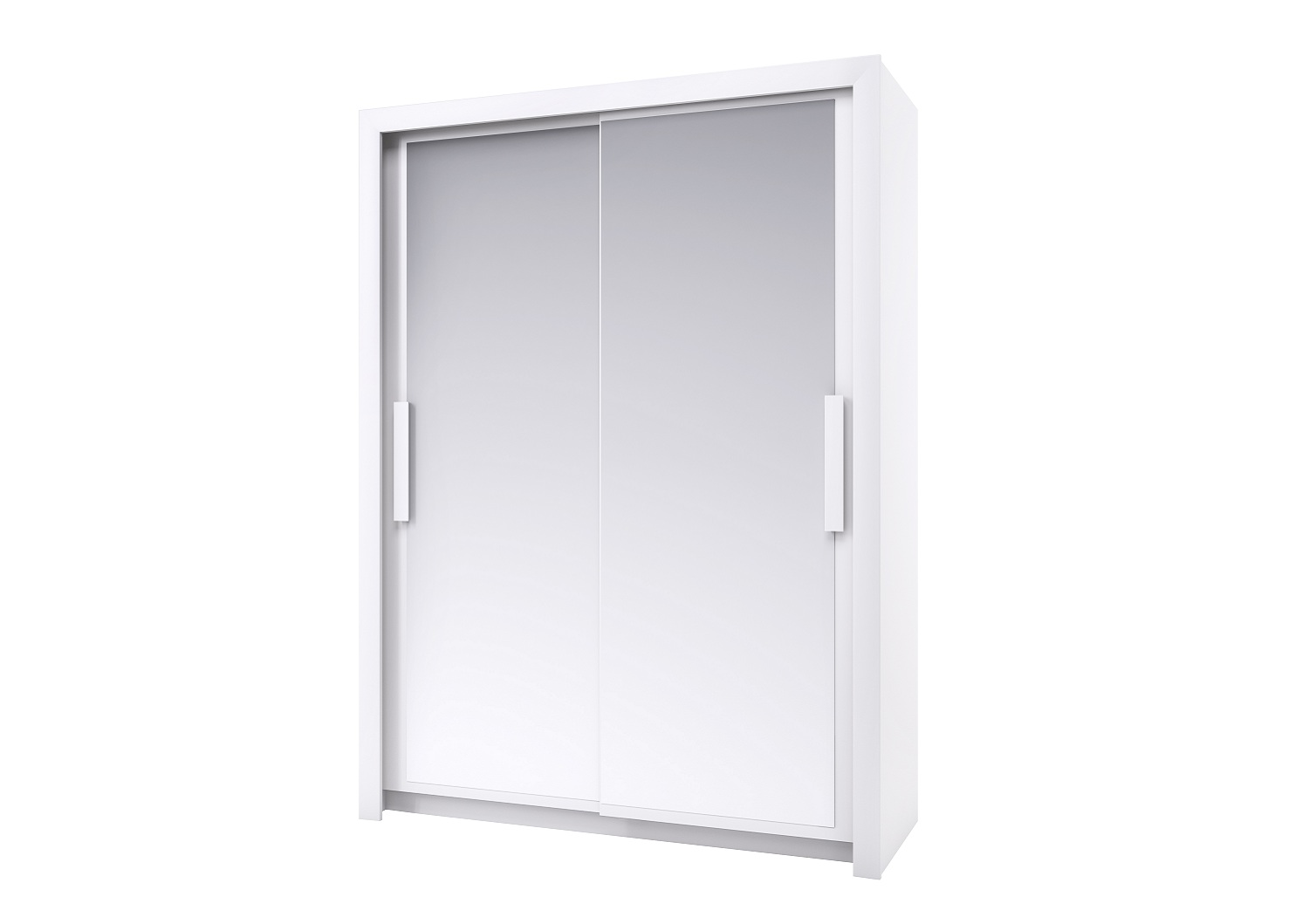 Bilrich Storage Furniture - Perfect Wardrobe 154cm White