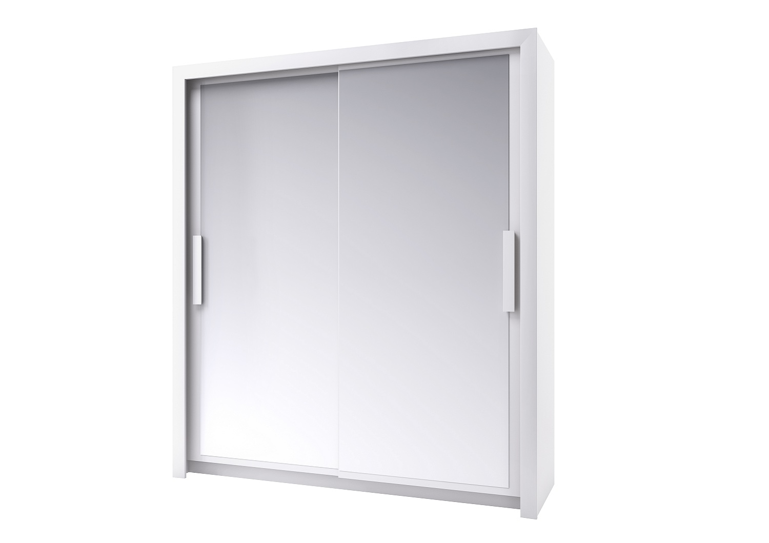 Bilrich Storage Furniture - Perfect Wardrobe 182cm White