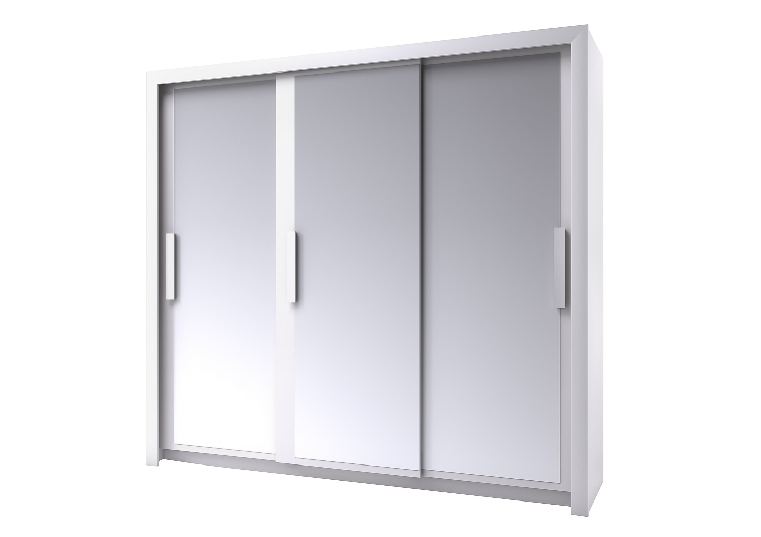 Bilrich Storage Furniture - Perfect Wardrobe 229cm White