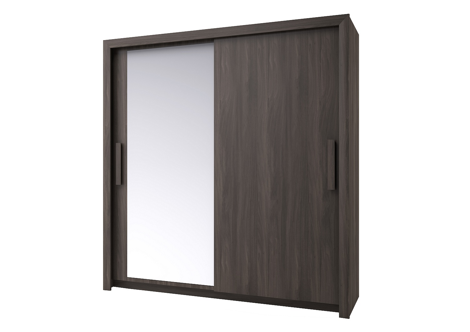 Bilrich Storage Furniture - Perfect Wardrobe 201cm Grey Elm