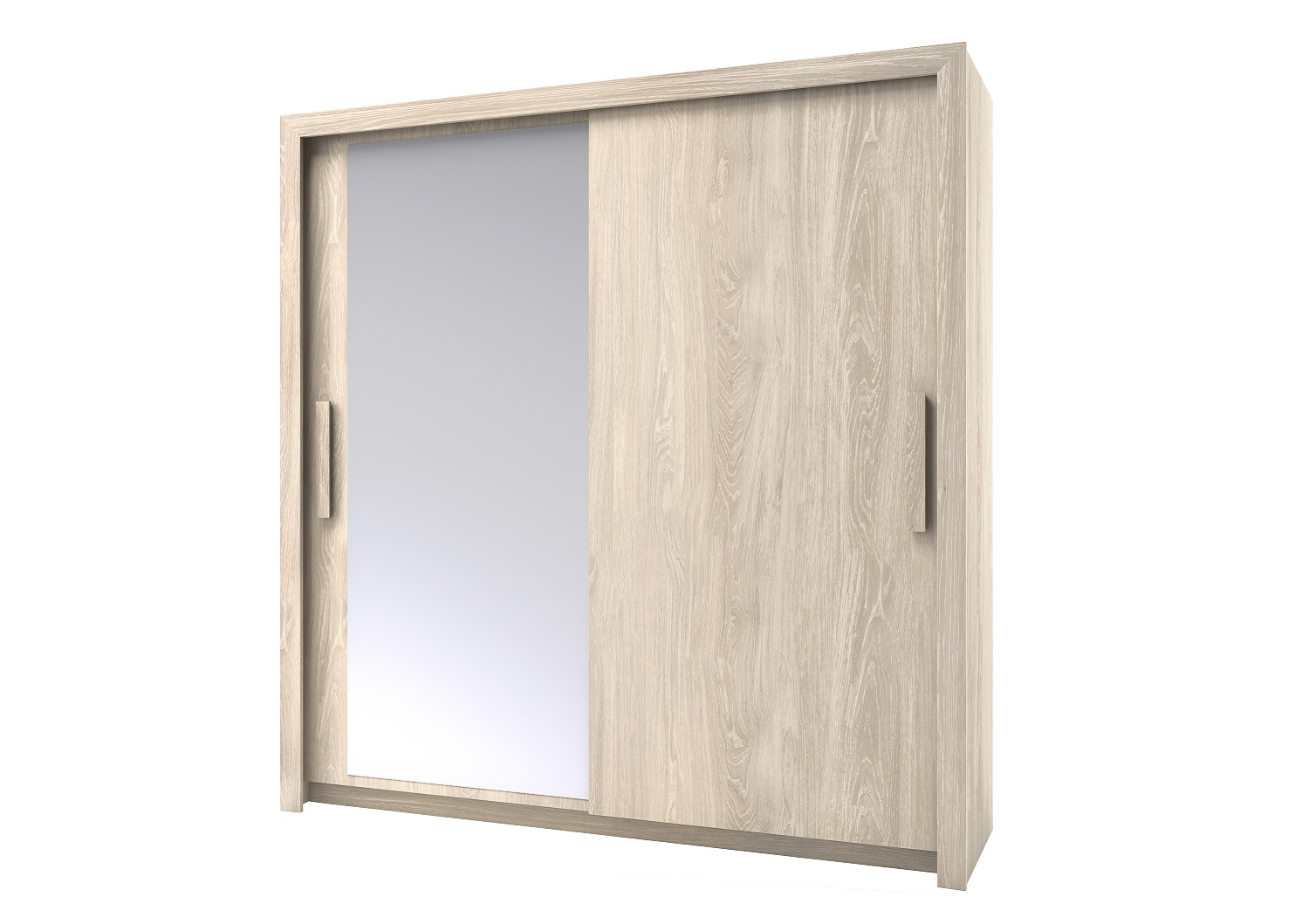 Bilrich Storage Furniture - Perfect Wardrobe 201cm Light Oak